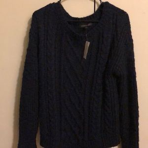 Banana Republic Navy Knit Sweater